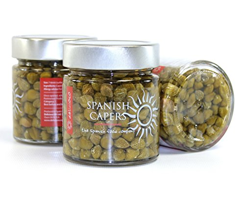 Alcaparras Pickled Surfine Capers 260g from Delicioso