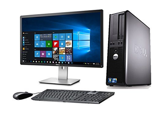 DELL OPTIPLEX 780 DESKTOP CORE 2 QUAD 2.4GHZ 4GB 160GB 22in MONITOR WINDOWS 10 64BIT (Renewed) from Dell