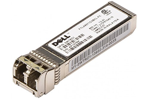DELL WTRD1 10G SFP+ SR 850NM TRANSCEIVER MODULE from Dell