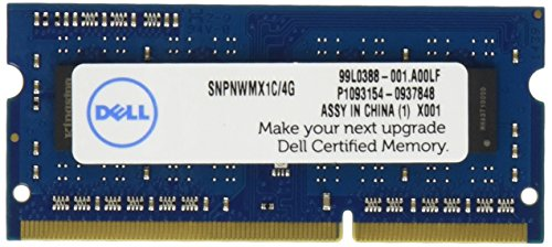 Dell 4GB 1600MHz DDR3L SDRAM SODIMM Memory Module from Dell