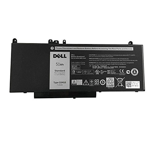 Dell WYJC2 Main Battery Pack 7.4V 6880mAh 51Wh - Latitude E5550 (Compatible Part F5WW5) - (Laptops > Laptop Battery) from Dell