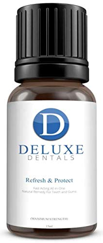 Deluxe Dentals Fast Acting Pure Botanical Oils Remedy for Teeth and Gums from Deluxe Dentals