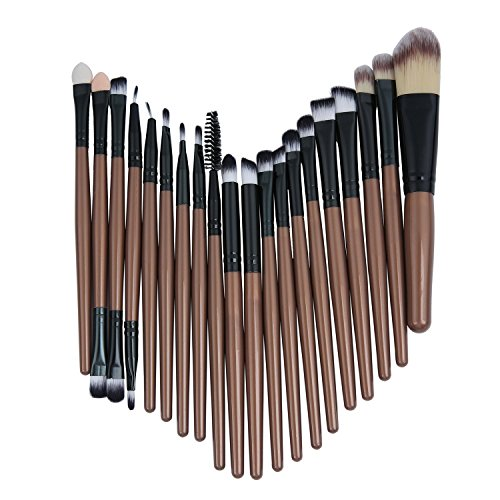 Demarkt 20 Pcs Makeup Brushes Set Professional Cosmetic Brush Set Tools Toiletry Kit from Demarkt