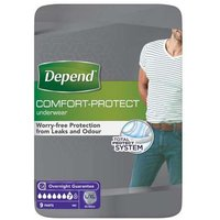 Depend for Men Incontinence Underwear Size L/XL (9) from Depend
