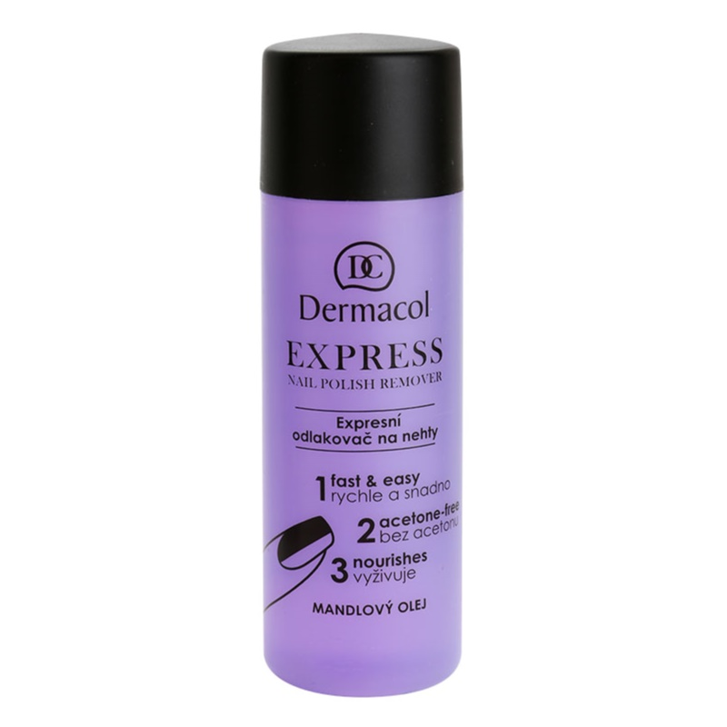 Dermacol Express Nail Polish Remover without Acetone 120 ml from Dermacol