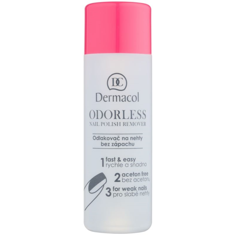 Dermacol Odourless Odorless Nail Polish Remover 120 ml from Dermacol