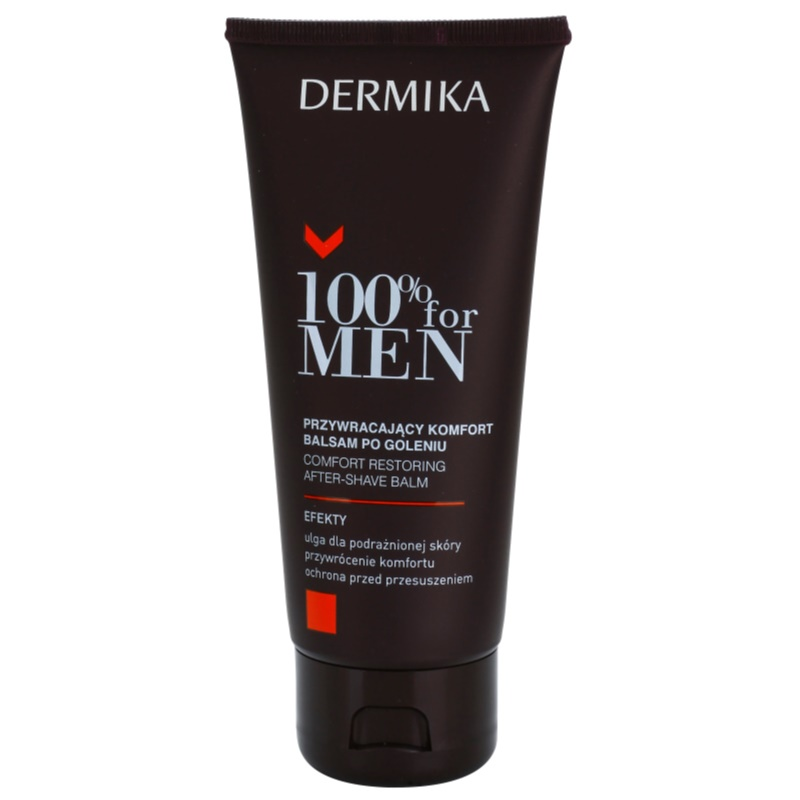 Dermika 100% for Men Soothing After Shave Balm 100 ml from Dermika