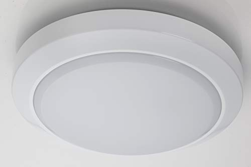 Deta L1021WH 'Stratus' Circular LED Bulkhead Light Fitting IP65 - 14 Watt White from Deta
