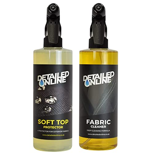 DetailedOnline Fabric Protector And Cleaner Kit Soft Top Convertible Waterproof Bubblegum from DetailedOnline