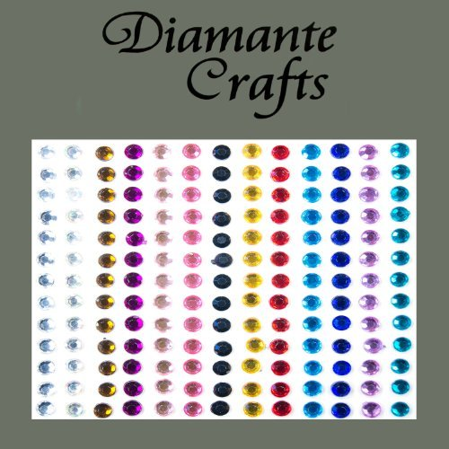 150 x 4mm Burgundy Diamante Self Adhesive Strips Rows Craft Embellishment Gems