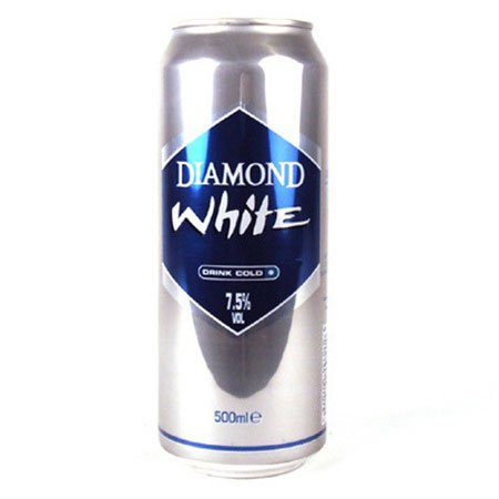 Diamond White Apple Cider (24 x 500ml Cans) from Diamond White