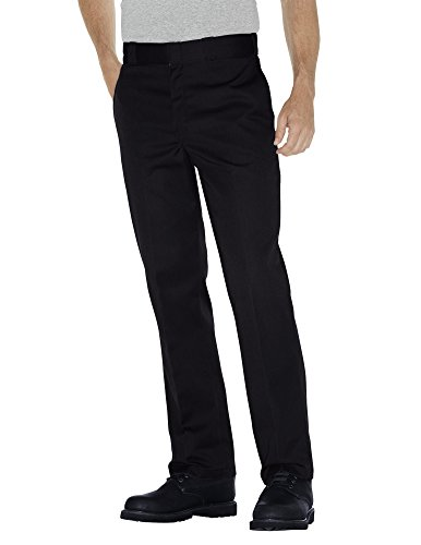Dickies Men's Original 874 Work Straight Trousers, Black, W40/L32 (Manufacturer Size:40/32) from Dickies