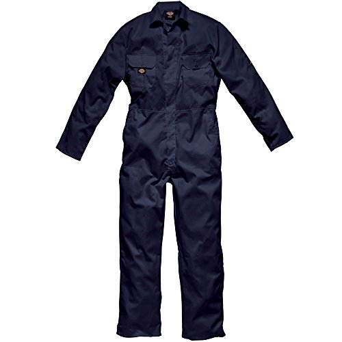"Dickies WD4819R NV S Size Small ""Redhawk Economy"" Coverall - Navy Blue from Dickies"