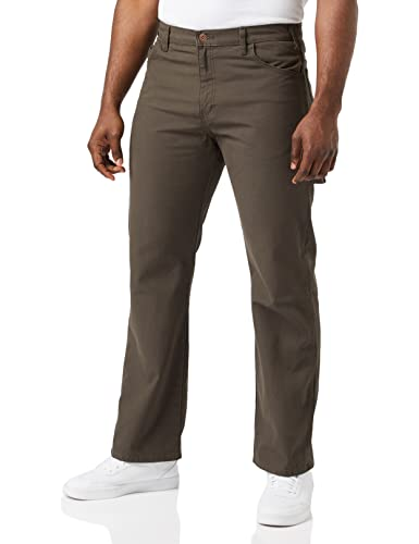 Dickies Men's Relaxed Straight Fit Lightweight Duck Carpenter Jean - Green - 36W x 30L from Dickies