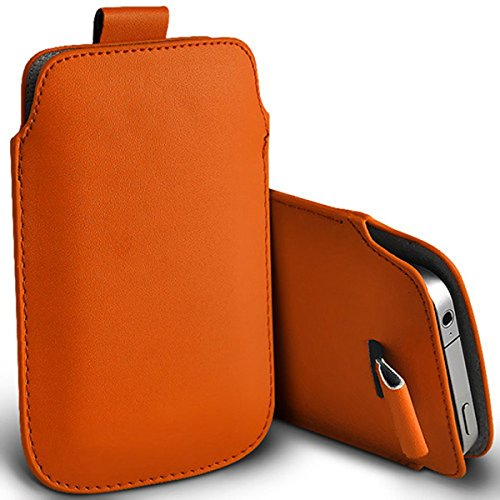 Digi Pig® Durable Protective Phone Pouch Cover With Easy Access Pull Tab For IMO Dash Mobiles - Orange from Digi Pig
