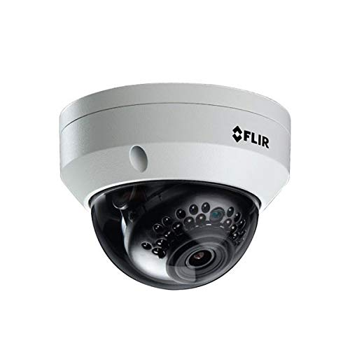 FLIR N243VW4 QUAD HD 4MP Professional Home Security Camera IP Dome Camera, 27m IR Night Vision, Vandal and Weather Proof, Onvif Profile S conformance from Digimerge
