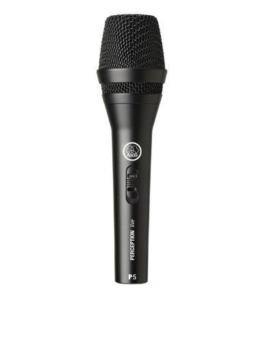 AKG P5S Dynamic Super Cardoid Handheld Microphone 600 Ohm Ideal For Lead Vocals from Digiteck