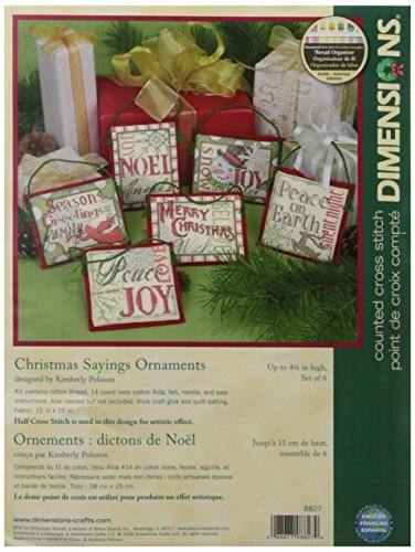DIMENSIONS Christmas Sayings, Multi-Colour from DIMENSIONS