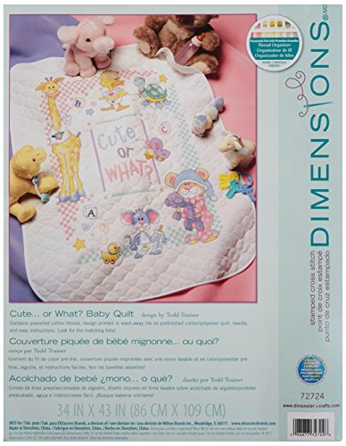 Dimensions 72724 Cute Needlecrafts, White from DIMENSIONS