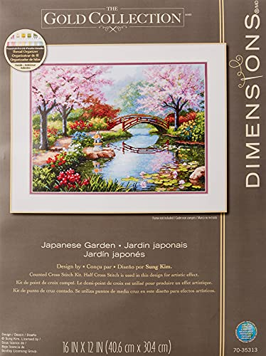 DIMENSIONS 70-35313 Japanese Garden, Pink from DIMENSIONS