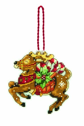 DIMENSIONS Counted X Stitch-Reindeer, White from DIMENSIONS