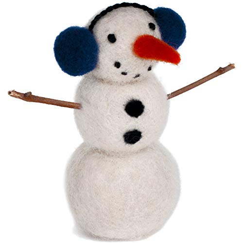 Dimensions Snowman Needle Felt Kit, Multi-Colour from Dimensions