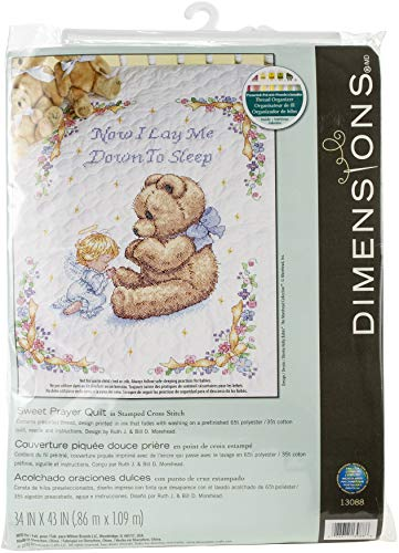 DIMENSIONS Quilt Sweet Prayer, Multi-Colour, 34 x 43 (86 x 109 cm) from DIMENSIONS