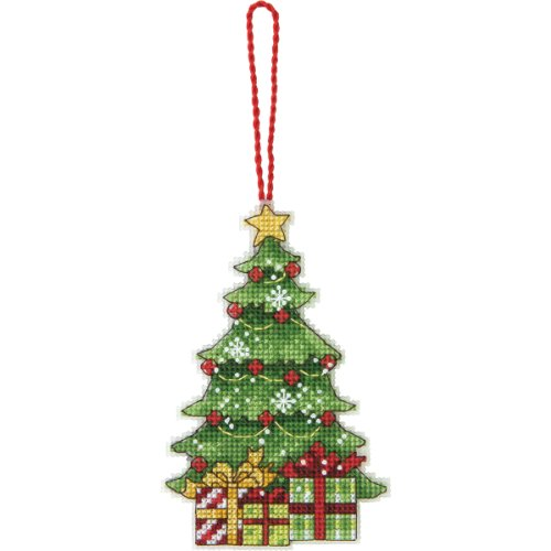 "Dimensions ""Susan Winget Tree "" Ornament Counted Cross Stitch Kit, Multi-Colour from Dimensions"
