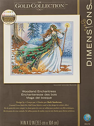 Dimensions D35173, Woodland Enchantress, Multicolor from Dimensions