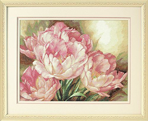 "Dimensions Gold Collection Tulip Trio Counted Cross Stitch Kit-16""X12"" 14 Count from Dimensions"