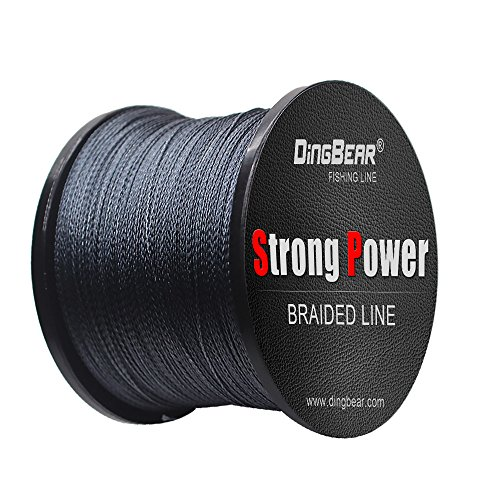 Dingbear 437Yd/400m 135LB/0.60mm Gray Super Strong Pull Generic Braided Fishing Line Fishing Lines FishLines FishingLine from Dingbear