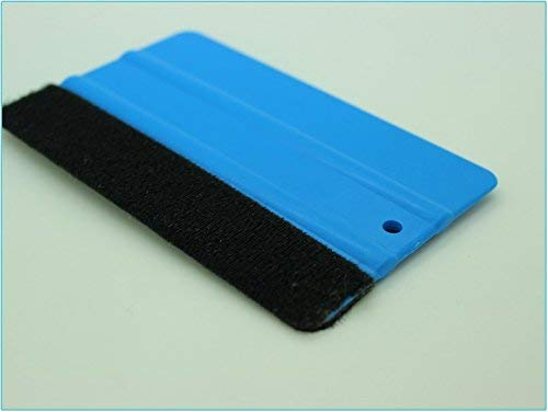 Squeegee Tool Pro Vinyl Wrap Car Wrapping Carbon Matte Gloss Chrome (Blue) from Dinopex