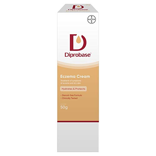 Diprobase Eczema Cream 50g for treatment of eczema symptoms and dry skin from Diprobase