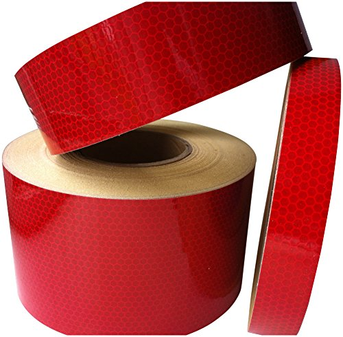 Hi Viz Hi Intensity Grade Red Reflective Tape 50mm X 5M from Direct Products