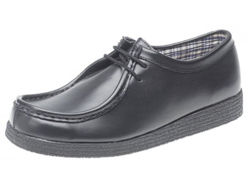School Shoes art no 7347/157A (Senior boys and Adult shoe size 6, BLACK) from Direct Schoolwear