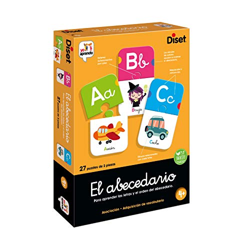 Diset - Educational Toy Alphabet (68963) from Diset