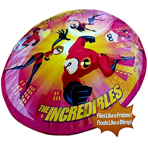 Disney The Incredibles Jumbo inflatable Hover disc toy Frisbee Float Garden Game from Disney