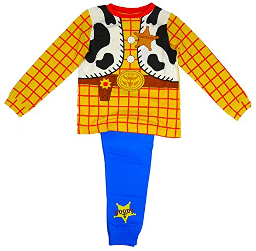 Boy's Toy Story WOODY Cowboy Costume Novelty Pyjamas size 3-4 Years from Disney