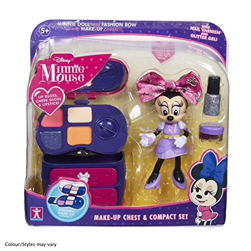 Minnie Mouse 06765 Make-Up Chest and Compact Set, Multicolour from Disney
