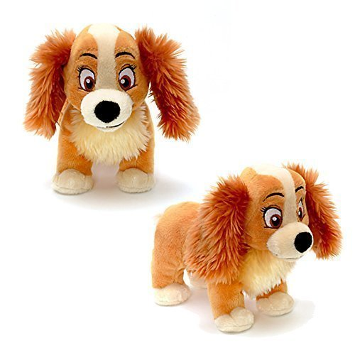 Official Disney Lady & The Tramp 20cm Lady Soft Plush Toy from Disney