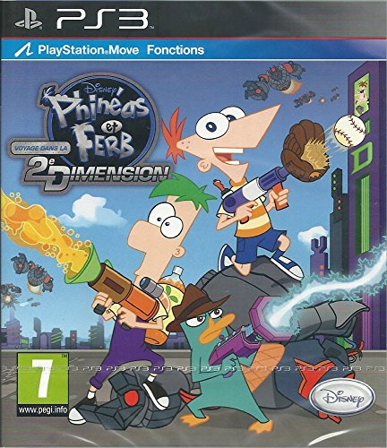 Phineas und Ferb - Quer durch die 2. Dimension [French Version] from Disney
