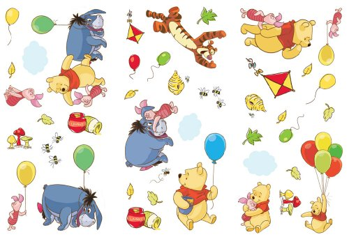 Disney Pooh Wall Stickers from Disney