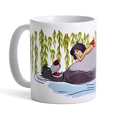 Disney Pyramid International The Jungle Book (Float) Official Boxed Ceramic Coffee/Tea Mug, Multi-Colour, 11 oz/315 ml from Disney