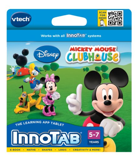 VTech InnoTab Software: Mickey Mouse Clubhouse from Disney