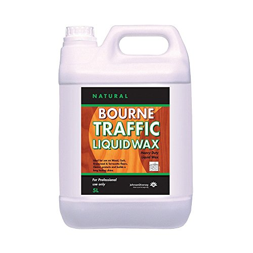 Diversey BDD141-5 Bourne Traffic Liquid Wax, 5 L (Pack of 2) from Diversey