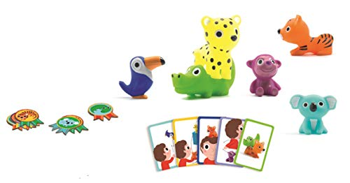 DJECO Action and Reflection Games Educational DJECOGame Little Action, Multicolour (15) from Djeco