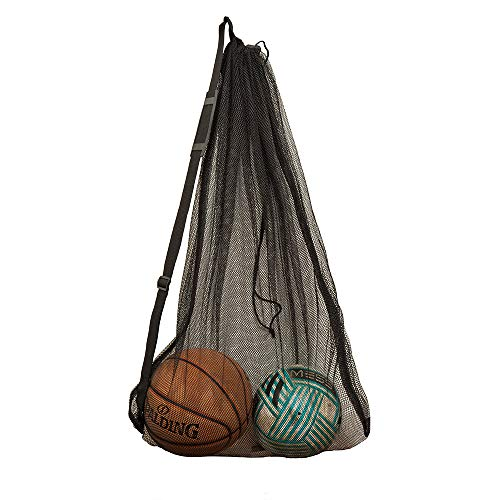 Mesh Ball Bag large sport con coulisse, Holder Storage bag of balls,mesh Equipment bag (1 pcs) from DoGeek