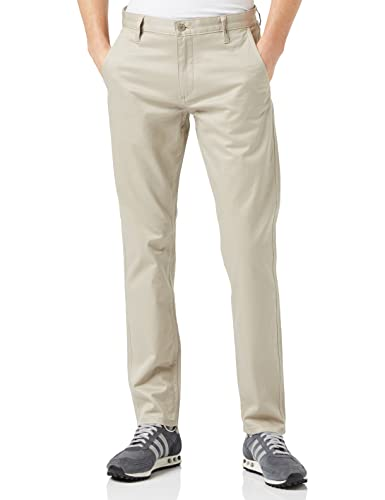Dockers Men's Alpha Original Slim - Stretch Twill Trouser, Beige (SAFARI BEIGE),  W38/L34 (Manufacturer size: 38) from dockers