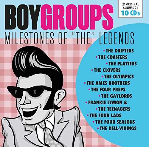 Boy Groups – Milestones Of The Legends from CD
