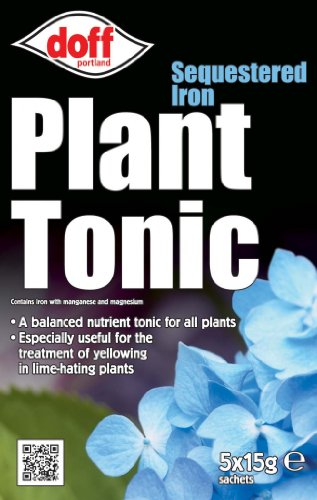 Doff 15g Sequestered Iron Plant Tonic (Pack of 5) from Doff Portland Ltd